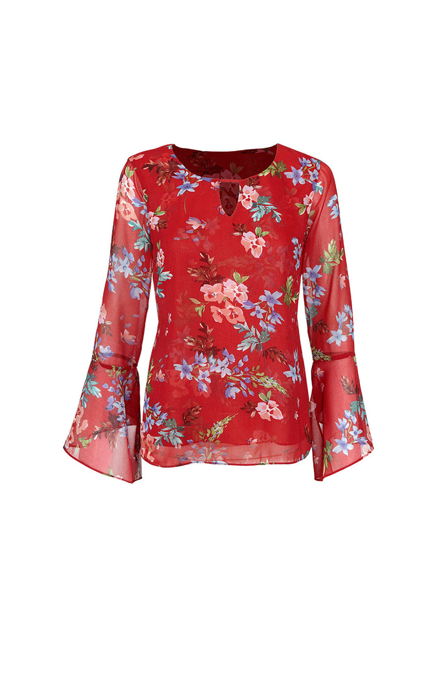 cabi's Devoted Blouse