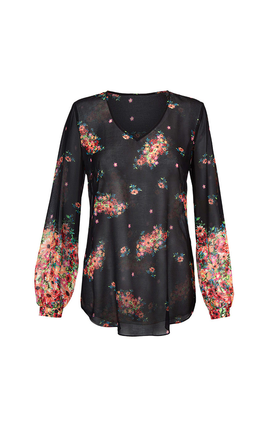 cabi's Blooming Blouse