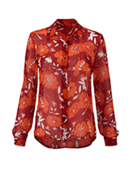 cabi's Hothouse Blouse