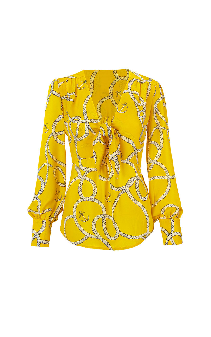 cabi's Reef Knot Blouse