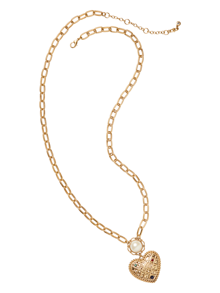 cabi's Heart of Gold Necklace