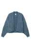 Astral Cardigan in Celestial Blue Flat