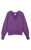 Luxury Pullover in Violet Flat