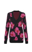 Rococo Pullover in Poppy Bloom Front