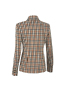 Jazzy Jacket in Toffee Plaid Back