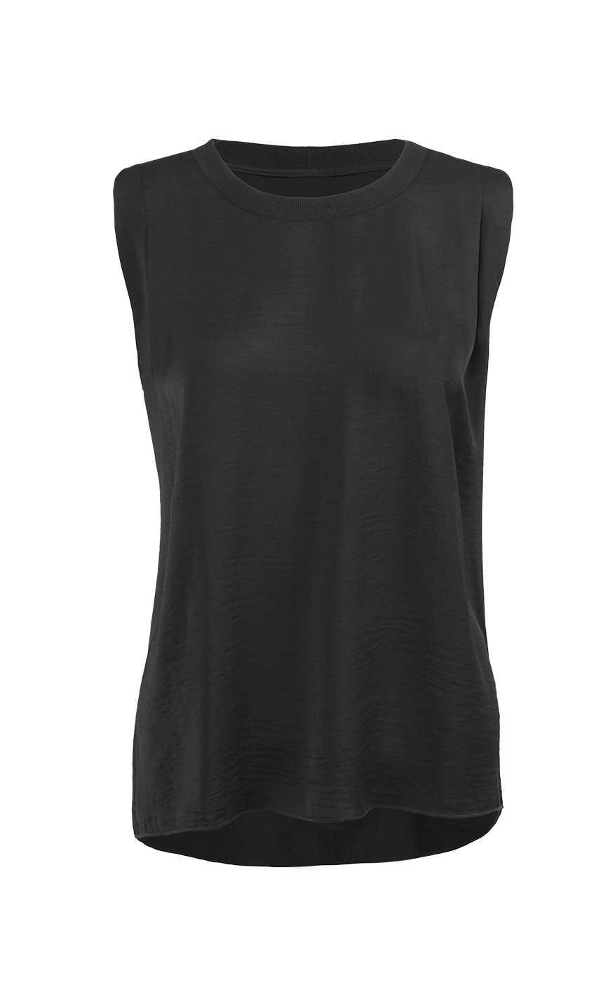 Complete Top in Black Front