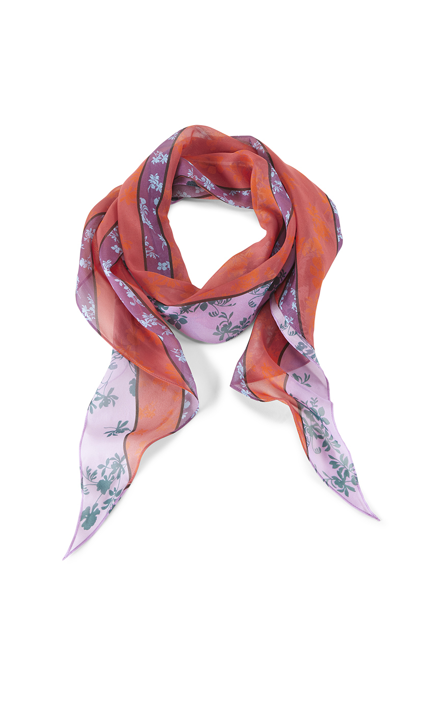 Coy Scarf in Multi Front